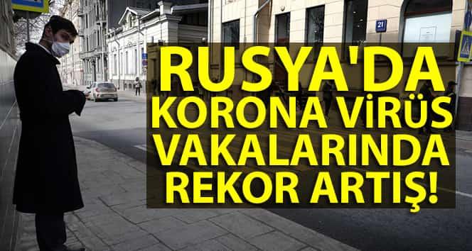 Rusya'da Korona Artışı