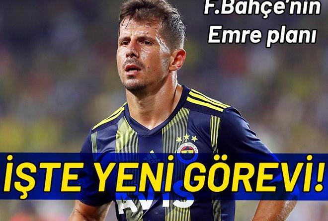 Emre Belözoğlu'nun Fenerbahçe'deki görevi