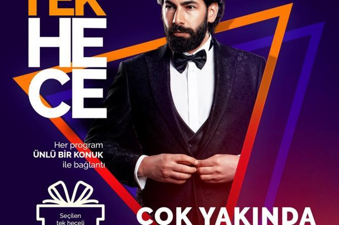 """""""Tolga Yüce ile Tek Hece"""" programın ilk konuğu ünlü şarkıcı Serdar Ortaç.."""