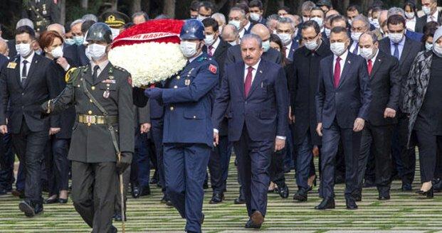 Ata'nın huzurunda! Ankara'da kısıtlı tören