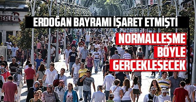 Normalleşme Türkiye'de nasıl olacak? İşte ayrıntılar