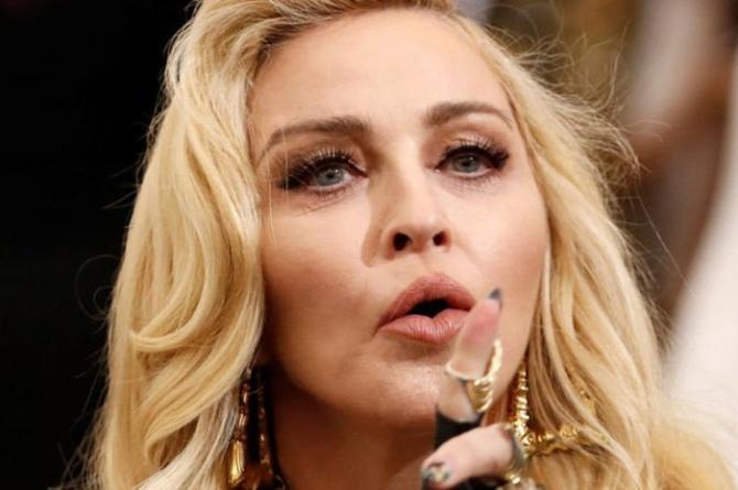Madonna'dan 1 milyon dolarlık bağış
