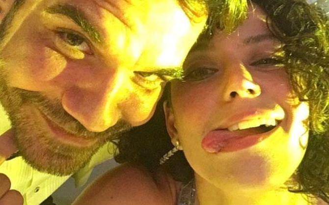 Beren Saat eşi Kenan Doğulu'nun doğum günü için sosyal medya hesabından paylaşım yaptı