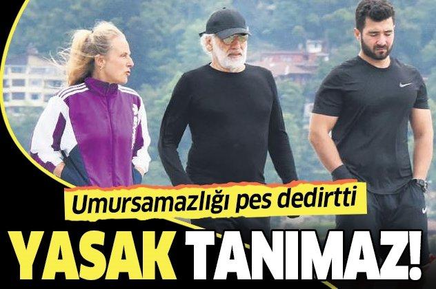 67 yaşındaki Sinan Çetin sokağa çıkma kısıtlamasını yine deldi