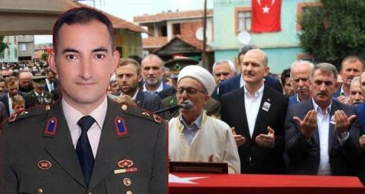 Bakan Soylu duyurdu! Binbaşıyı şehit eden terörist öldürüldü