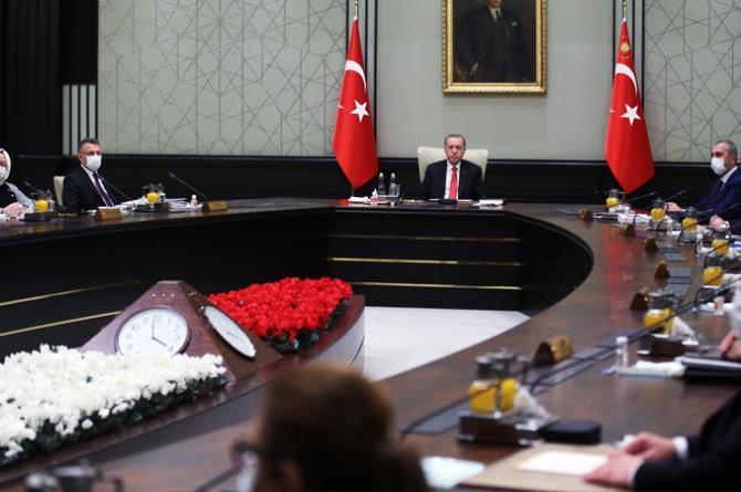 Toplantı sona erdi! Cumhurbaşkanı Erdoğan açıklama yapacak.