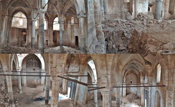 Tarihi Kiliseyi Köstebek Yuvasına Çevirdiler