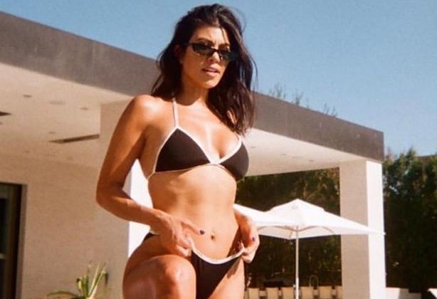 Kourtney Kardashian takipçilerini yüreklendirdi!