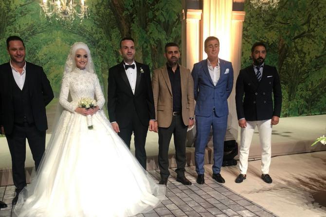 Geskon İstanbul İl Başkanı Adem Köse AK parti İstanbul İl Başkan Yardımcısı Cemal Sarıhan ı mutlu gününde yalnız bırakmadı