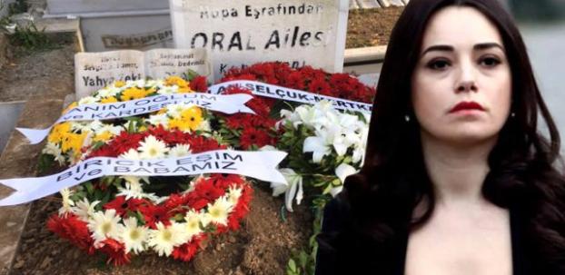 Eşi Serdar Oral'ı toprağa veren Özgü Namal, cenazeye katılamadı
