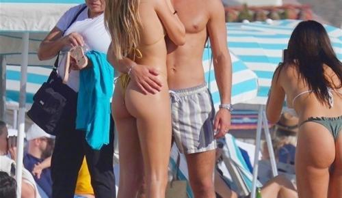 Delilah Belle Hamlin ve Eyal Booker'ın tatilde aşka geldi!