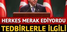Cumhurbaşkanı Erdoğan'dan kritik toplantı sonrası önemli açıklamalar
