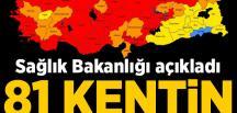 Sağlık Bakanlığı'ndan flaş açıklaması! 81 ilin tamamında patlama