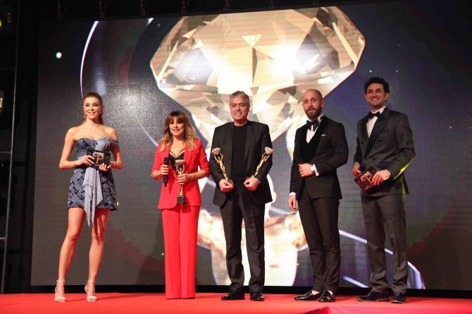 Diamonds Of Turkey 2021 ödülleri sahiplerini buldu  Dev organizasyonun dev ödülleri