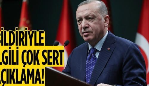 Cumhurbaşkanı Erdoğan'dan emekli amirallerin bildirisiyle ilgili ilk açıklama