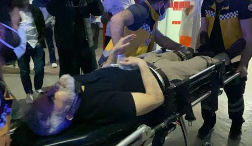 Polis ekibine silahlı saldırı: 1'i polis, 2 yaralı