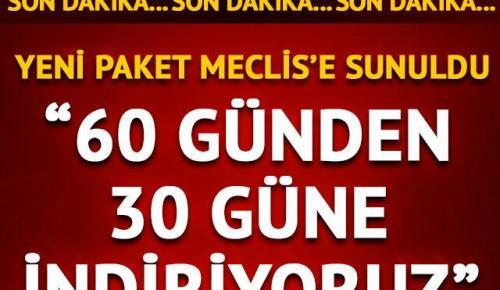 AK Parti 4. Yargı Paketi'ni Meclis'e sundu