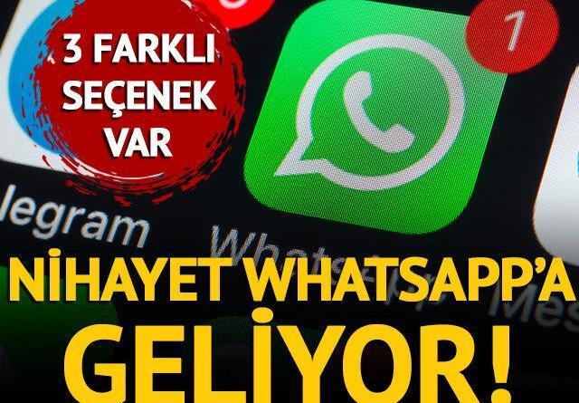 WhatsApp'tan video gönderenleri yakından ilgilendiren özellik!